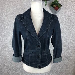 CAbi Jean Jacket Style #860 | S
